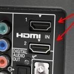 """La plupart des équipements récents utilisent l'entrée """"HDMI"""" (High Definition Multimedia Interface) de votre télévision, qui fournit à la fois le son et l'image. Si vous en avez une, vous avez de quoi faire."""